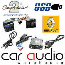 Connects2 CTARNUSB005 Renault Laguna 2008 Onward USB SD AUX IN Interface Adaptor