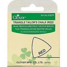 Clover Triangle Tailor's Chalk RED #432 R Sewing Quilting Notions