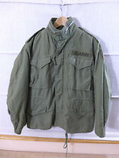 1970 us army vietnam m65 Coat cold weather Field Jacket veste de champ Olive small * 6