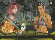 Asuka VS Bayley NXT Rivalries WWE Then Now Forever 2016 Trading Card #4