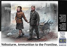 "1/35 Master Box 35182 ""Volkssturm, Ammunition to the Frontline"" - 2 Figures Set"