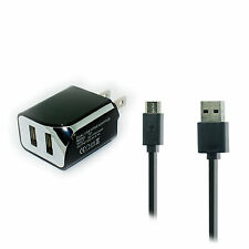 2A Wall Charger+5ft USB Cable for TMobile/MetroPCS Alcatel One Touch Fierce XL