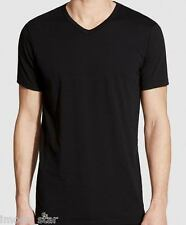 Lacoste Men's V-Neck 100% Supima Cotton T-Shirt - Medium
