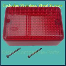 Land Rover Defender Fog Light Lens + Stainless Steel Screws Upto 1998