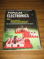 Popular Electronics Magazine September 1965 Automatic On/Off Light Control
