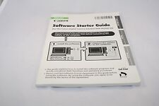 Canon Software Starter Guide (EN) 7117022 genuine English 2005 ver 26