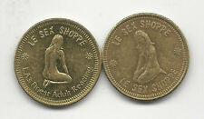 ONE GIRLIE TOKEN: 25mm LE SEX SHOPPE - LA'S FINEST IN ADULT READING  / BOOKSTORE