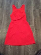 Zara Red/orange Dress Xs
