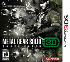 Metal Gear Solid Snake Eater 3DS New nintendo_3ds;