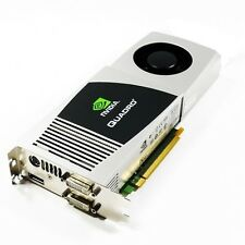 4GB HP FZ559AA nVIDIA Quadro FX5800 Dual DVI DP TV PCI-E x16 Graphics Card