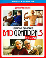 Jackass Presents: Bad Grandpa .5 (Blu-ray Disc + Digital Copy, 2014) NEW Sealed