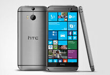 HTC One M8 - 32GB - Gun Metal Grey WINDOWS AT&T (Unlocked) GSM Smartphone