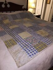Vintage Block Cotton Cutter Quilt