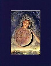 LUMINOUS MATTED PAGAN ART * JOSEPHINE WALL * THE MOON GODDESS