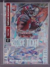 2014 Contenders Cracked Ice Austin Seferian-Jenkins Auto Rc Serial # To 22 RARE