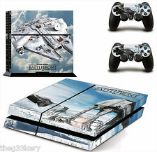 PS4 Vinyl Star Wars Battlefront Hoth Strike 2 Controllers Console Stickers Skin