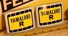 VINTAGE Factory Yamaha Yamalube R sticker decal YZ TZ OW Works motocross AHRMA