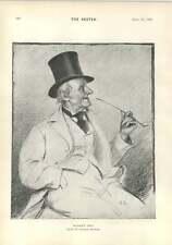 1894 día de mercado Top Hat Tubo Davidson Knowles Dudley Hardy faldas Bonnet