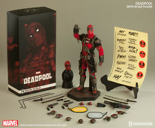 SIDESHOW MARVEL DEADPOOL WADE WILSON 1:6 FIGURE ~BRAND NEW SEALED~