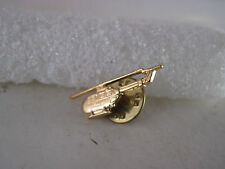Helicopter  pin goldtone