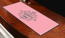 PINK IT'S ALWAYS PROSECCO TIME DESIGN BAR RUNNER COCKTAIL PARTY PUB CLUB