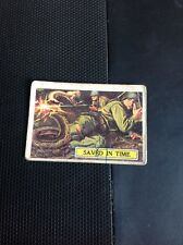 G9-1 Trade Card Abc A&BC Battle No 21 Saved In Time