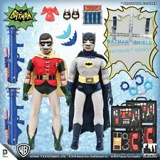 "1966 Batman Classic TV Series ""Breather"" Deluxe Batman & Robin 8 inch figures"