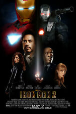 IRON MAN 2 - 2010 - original 27x40 REGULAR STYLE Movie Poster-ROBERT DOWNEY JR.