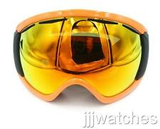 New Oakley Canopy Herb Orange Fire Iridium Snow Goggles OO7047-10 $160