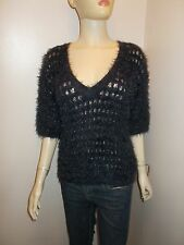 Womens Next fluffy hairy jumper sweater top size S 8/10 UK 36/38 Eur