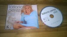 CD Pop Tatiana Perez - Didi (1 Song) Promo BMG NA KLAR! sc