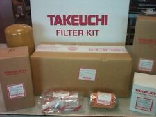 "TAKEUCHI TB228, TB235, TB250 ANNUAL FILTER KIT - ""OEM"""