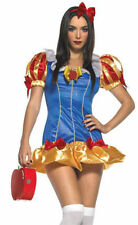 FAIRY TALE PRINCESS SNOW WHITE DRESS GENUINE LEG AVENUE COSTUME UK 10-12