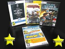 LOTTO STOCK 4 GIOCHI  NUOVO BLACK E WHITE STAR WARS LONDON TAXI PC ITA STOCK187