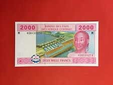 """CAMEROUN 2000 FRANCS B.E.A.C 2002 BILLET en ETAT """" NEUF """""""