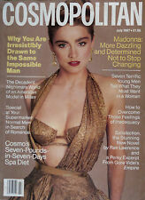 MADONNA * COSMOPOLITAN  * JULY 1987  * MEGA RARE! * FIRST COSMO COVER