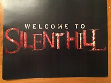 Tin Sign Vintage Welcome To Silent Hill