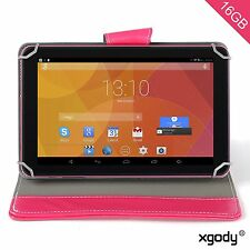 "9"" Quad Core A33 Google Android 4.4 Tablet PC 16GB Bundled Free Case Cover A7"