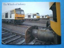 POSTCARD CLASS 60 LOCO AT TOTON NOTTSTHE WHEELS ON INDUSTRY