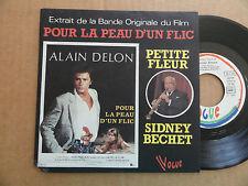 """DISQUE 45T  EXTRAIT DE LA BANDE ORIGINALE DU FILM  """" POUR LA PEAU D'UN FLIC  """""""