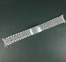 Vintage Eterna Kontiki Beads Of Rice Steel Watch Band 19mm! Jan Voort!