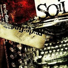 re.de.fine by Soil (CD, Mar-2004, J Records) Pantera Metallica Breaking Benjamin