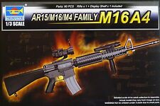 TRUMPETER® 01915 AR15/M16/M4 Family M16A4 in 1:3