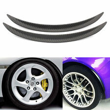 1pair Car Tires Eyebrow Wheel Eyebrows Soft Rubber Auto Tyre Decoration Strip