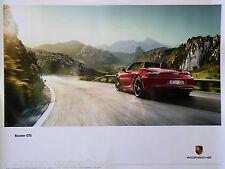 Porsche poster porsche boxster GTS reprint 2013 taille: 76,3 x 101,4 CM