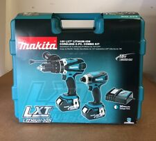 Makita XT218 18V LXT Lithium-Ion Cordless Combo Kit, 2-Piece