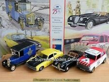 CORGI CSMA 75TH ANNIVERSARY SET CAPRI JAGUAR MINI LIMITED EXAMPLE BXD T3412Z (=)