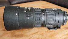 Nikon 80-200mm F/2.8 AF ED Lens  serviced by Nikon  Zoom ring version