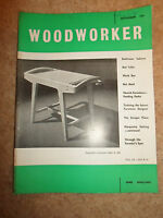 Woodworker September 1961 ~ Retro Vintage Illustrated Magazine + Advertising