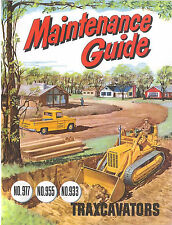 Caterpillar Maintenance Guide Traxcavators 977 955 933